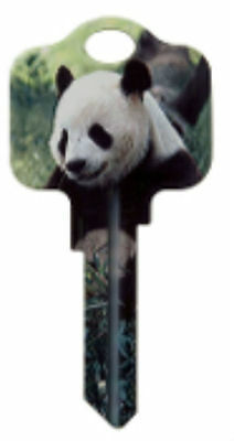 "Pets & Animals "" PANDA "" House Key Blank KW KWIKSET"