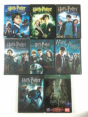 Coffret Lot 8 DVD Harry Potter L'INTEGRALE / 1 2 3 4 5 6 7 8 a