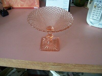 """Miss America 5"""" pink compote"""