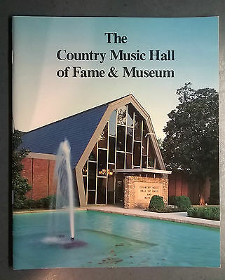 The Country Music Hall Of Fame & Museum Catalog 1987