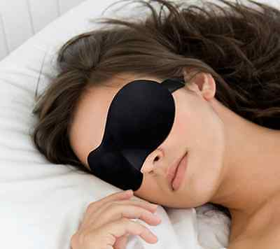 New 3D Sleeping Eye Mask Soft Sponge Comfortable Travel Rest Blindfold Sleep Aid