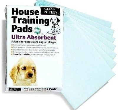 HOUSE TRAINING PADS - 56cm x 56cm Large Pet Dog Puppy Puppies Home Toilet Mat