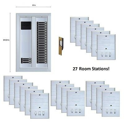 Apartment Building Intercom Upgrade System Electric Strike Door Lock 27 Room