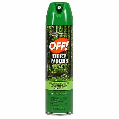 OFF! Deep Woods Insect Repellent V, 9 Ounces
