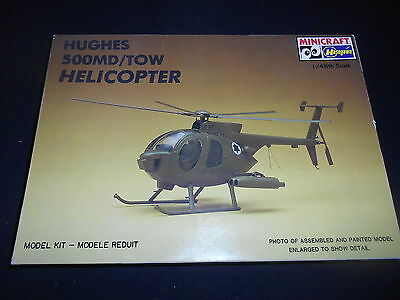 Hasegawa/minicraft 1204, 1/48 Hughes 500Md/tow Helicopter Plastic Model Kit