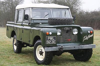 "Land Rover Series 2a 109"" Double Cab Pick Up"