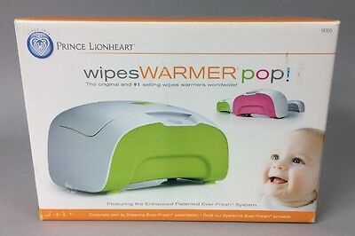 Prince Lionheart Wipes Warmer pop! Ever Fresh System Green