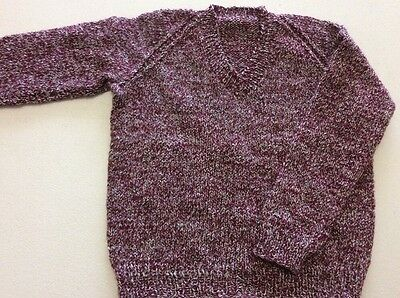 hand knitted jumper size 4