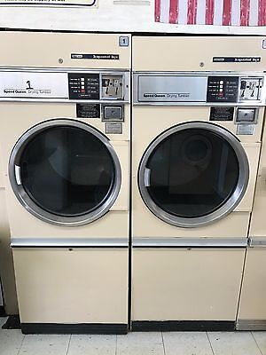Speed Queen Commercial 30# dryers (2) , single phase, new parts, $500 for both.