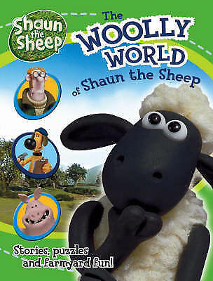 """The Woolly World of """" Shaun the Sheep """" : Stories, Puzzles and-ExLibrary"""