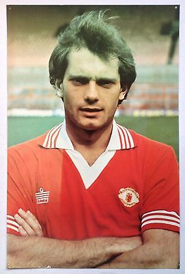 Ray Wilkins 1979-1980 Manchester United Poster