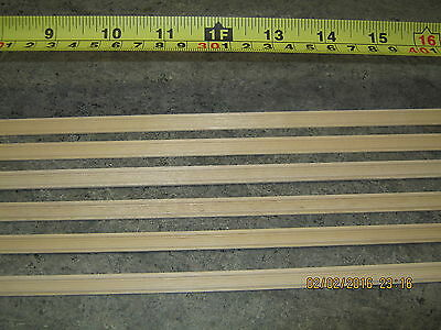 1/12th Scale Dollhouse Miniature Chair Rail x 6 lenghts