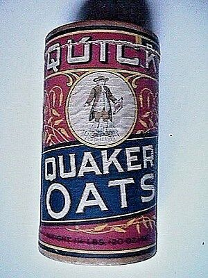 Quick Quaker Oats Container Collectible Vintage Advertising