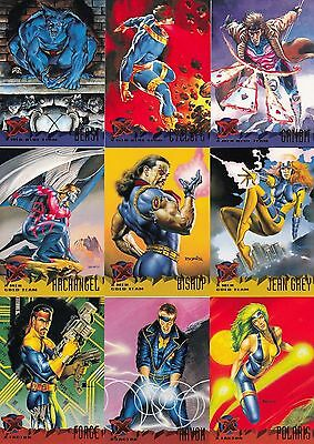 1995 Xmen Ultra 150 card set by Fleer Skybox