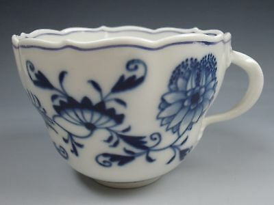 Meissen China BLUE ONION Scalloped Cup EXCELLENT