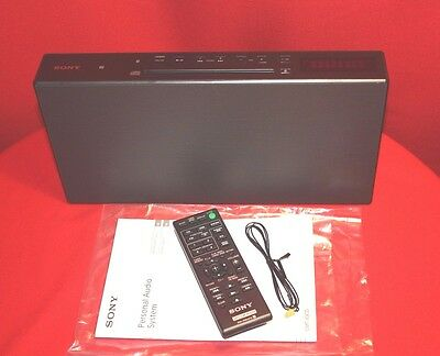 Sony Bluetooth All-In-One Cmt-X3Cd Micro Hi-Fi System With Cd Nfc Fm Radio