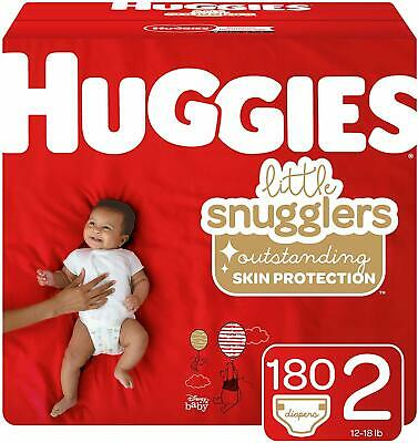 Huggies Snug and Dry Disposable Baby Diapers 246 COUNT Size 2  BRAND NEW!!