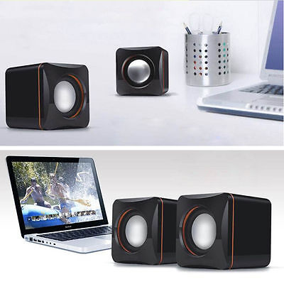 Mini Portable USB Audio Music Player Speaker for cellphone smar MP3 Laptop PC DP