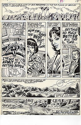 Marvel Super Special #7 pg 19 Sgt Pepper's Lonely Hearts Club Band +FREE BOOTLEG