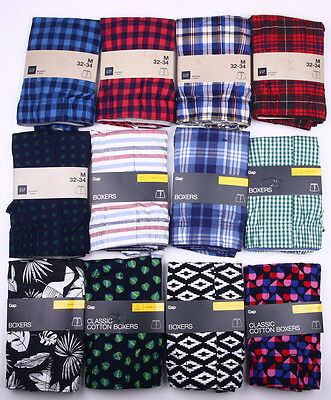 Men's Gap Boxers 100% Cotton S,M,L,XL
