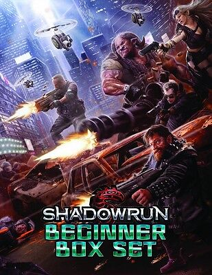 Shadowrun 5th Edition Role Playing Game - Beginner Box Set - New & Sealed