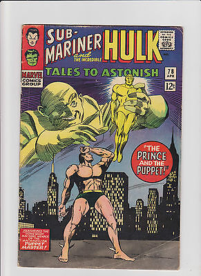 Tales to Astonish #78 VG- Silver Age (1966) Comic Book