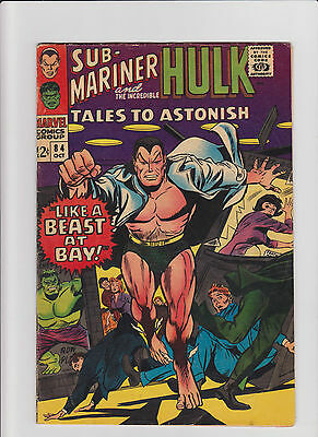 Tales to Astonish #84 VG Silver Age (1966) Comic Book