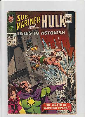 Tales to Astonish #86 GD/VG Silver Age (1966) Comic Book