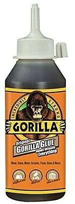 Gorilla Glues Adhesive Sealer Waterproof Stick Wood Metal Ceramic Plastics Brown