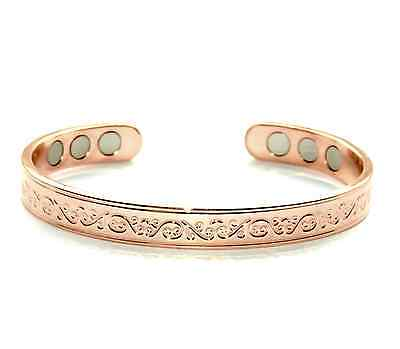 Stunning Women's Copper Magnetic Bracelet Bangle Arthritis Gift Present