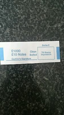 £10 note money bands/UK currency straps (select quantity)