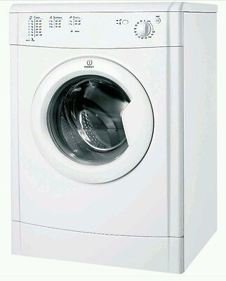 Indesit IDV75 7Kg Vented Tumble Dryer White New from AO