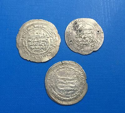 Islamic Dynasties Lot Of 3 Coins