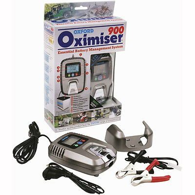 Motorcycle Oxford Battery Charger Oximiser 900 UK Seller
