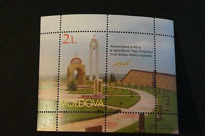 Moldova Moldawien 2004  MNH** Mi. 494 Bl.32 60 Years operation Chisinau WWII
