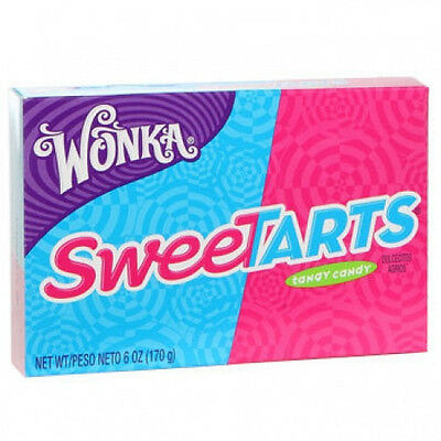 Willy Wonka SWEET TARTS Theater Box Candy sweetarts 6 oz