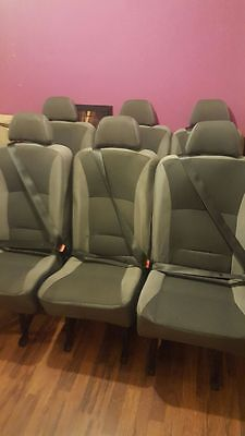 Upgraded Mercedes Sprinter Rear Seat(s)