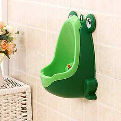 Tenflyer Frog Children Potty Toilet Training Kid Urinal for Boy Pee Trainer Bath