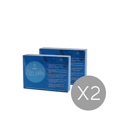 2 Zen Pills: Relax capsules to control anxiety