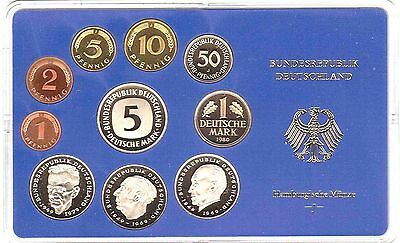 West Germany Full D-Mark Coin Proof Set 1978,1979,1980,1981,1982, or 1983.