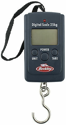 Berkley FishinGear 55lb/25kg Pocket Digital Fishing Scales