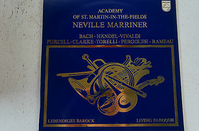 Neville Marriner Academy of St.Martin-in-the-Fields Bach Händel Vivaldi ua(LP12)