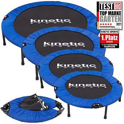 KINETIC SPORTS Fitness Trampolin Faltbar Indoor Minitrampolin Jumping Plus NEU