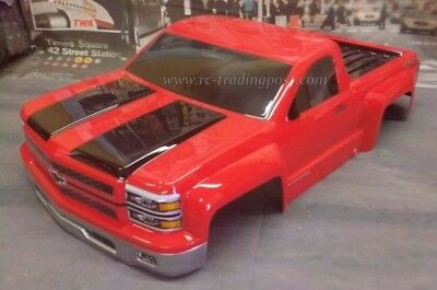 Chevy Silverado Pro-Touring Custom Painted 1/10 RC Short Course Body For Slash