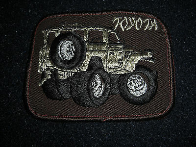 Toyota  Land Cruiser Patch Vintage 1980's