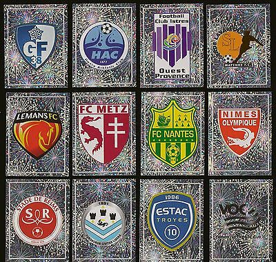 Panini - FOOT 2011 (France) - Lot 12 ECUSSONS LIGUE 2