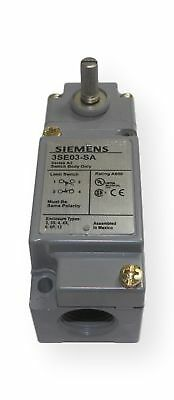 Fits Siemens 3SE03?AR1 Limit Switch, Side Rotary, 1NO + 1NC