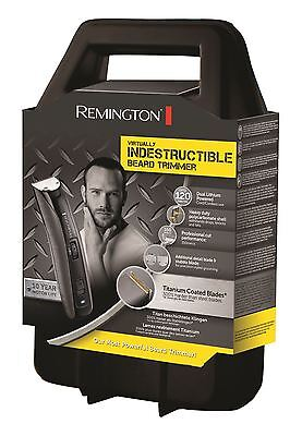 Remington Mens Indestructible Rechargeable Lithium Beard Hair Trimmer MB4850