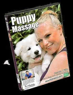 Puppy Massage DVD, dog and owner gift, good for any age dog