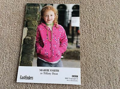 Maisie Smith As Tiffany Dean Bbc Eastenders Unsigned Card - Mint Condition